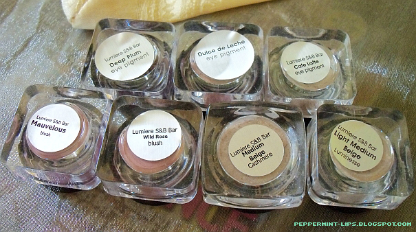 Lumiere Cosmetics - Mineral Makeup review + swatches