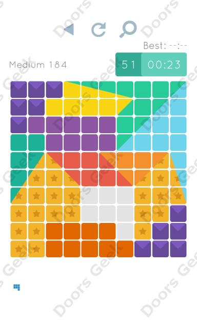 Cheats, Walkthrough for Blocks and Shapes Medium Level 184