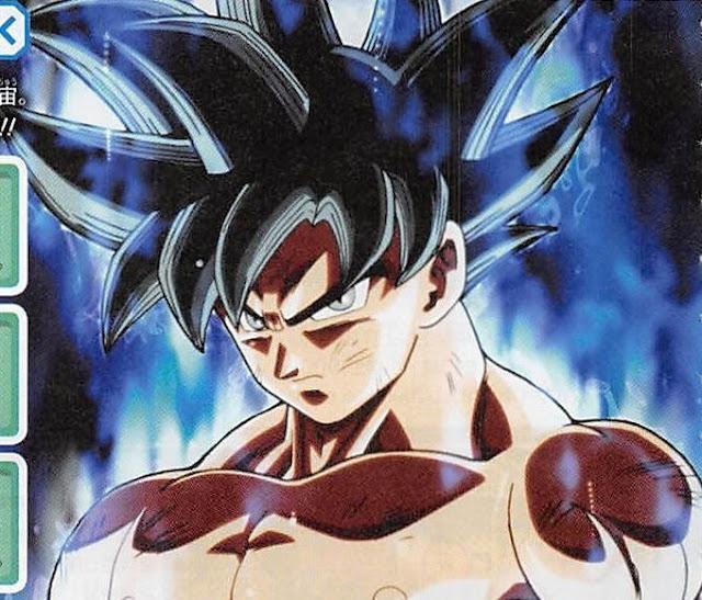 Dragon Ball Super V-Jump magazine unveiled the new form of Goku