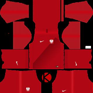 Poland 2018 World Cup Kit - Dream League Soccer Kits