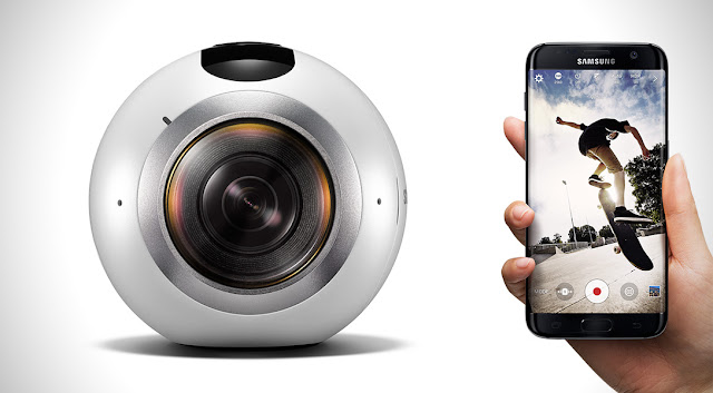 Samsung's new Samsung Gear 360 Camera specification and Price