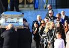 "Mob Wives cast members Brittany Fogarty and Karen Gravano were asked not to attend Angela ""Big Ang"" Raiola's funeral yesterday."