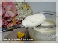 beurre de coco maison
