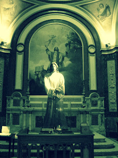 Imagem de Cristo em Um dos Altares Laterais da Catedral de Buenos Aires