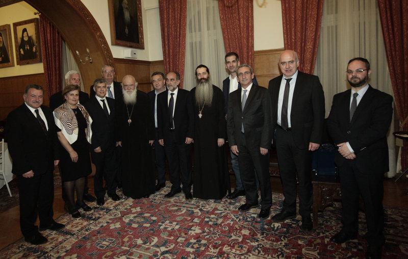 Με τους Περιφερειάρχες δείπνησε ο Ιερώνυμος - Τι περιελάμβανε το «μενού» της συζήτησης (εικόνες)