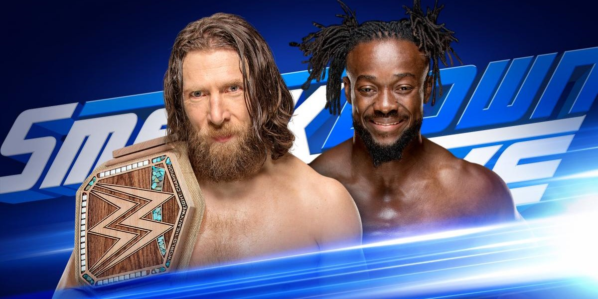 Kofi Kingston Signed The Wrong Contract on Smackdown (Photo)