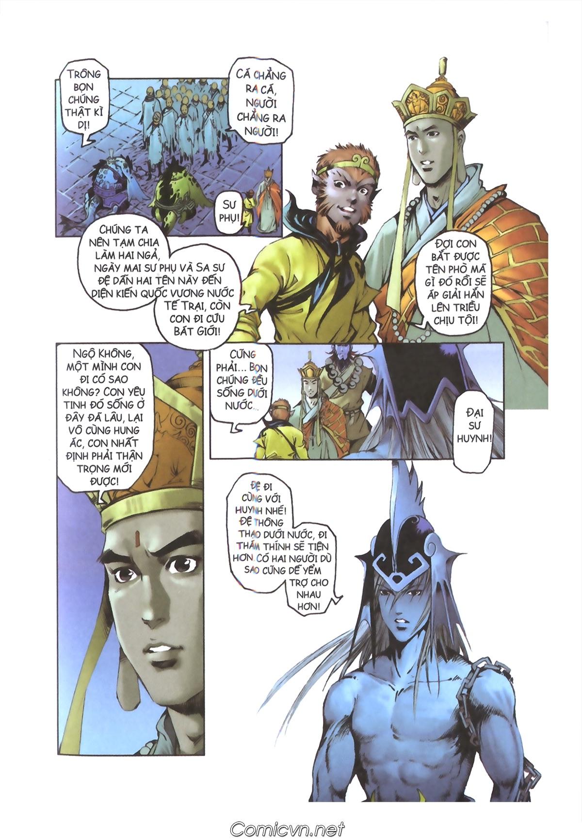 Tây Du Ký màu - Chapter 110 - Pic 37