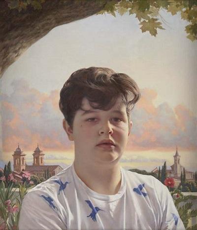 by Tongyao Zhu, BP Portrait Award 2018, third prize, pinturas bonitas,