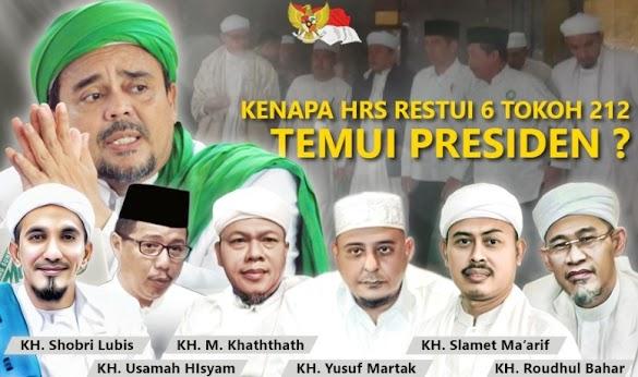 Ini Penjelasan HRS soal Pertemuan Tim 11 dengan Jokowi