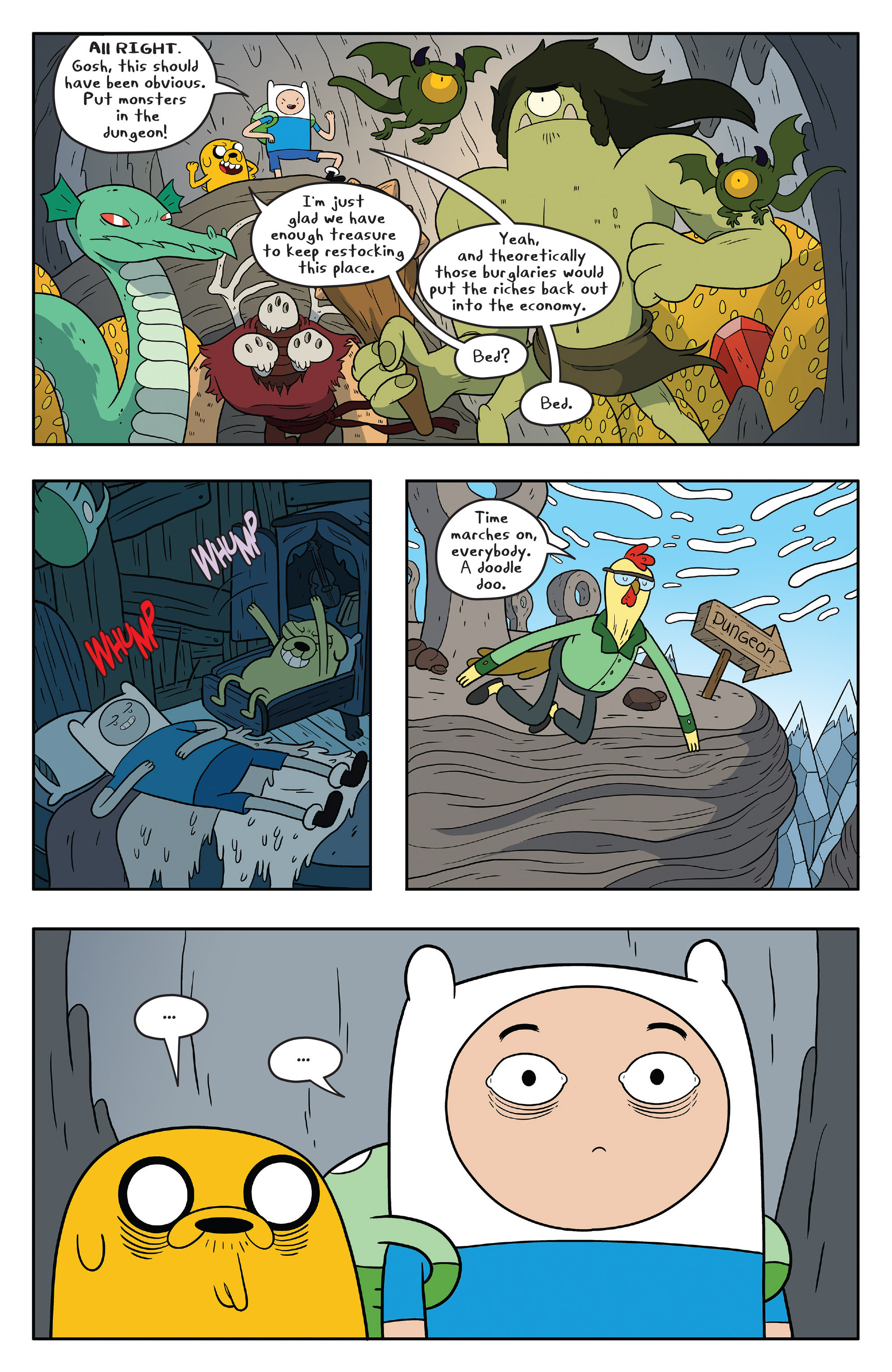 Read online Adventure Time comic -  Issue #58 - 19