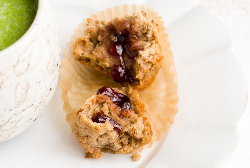 Double Coconut Maui Muffins. (GF + Vegan)