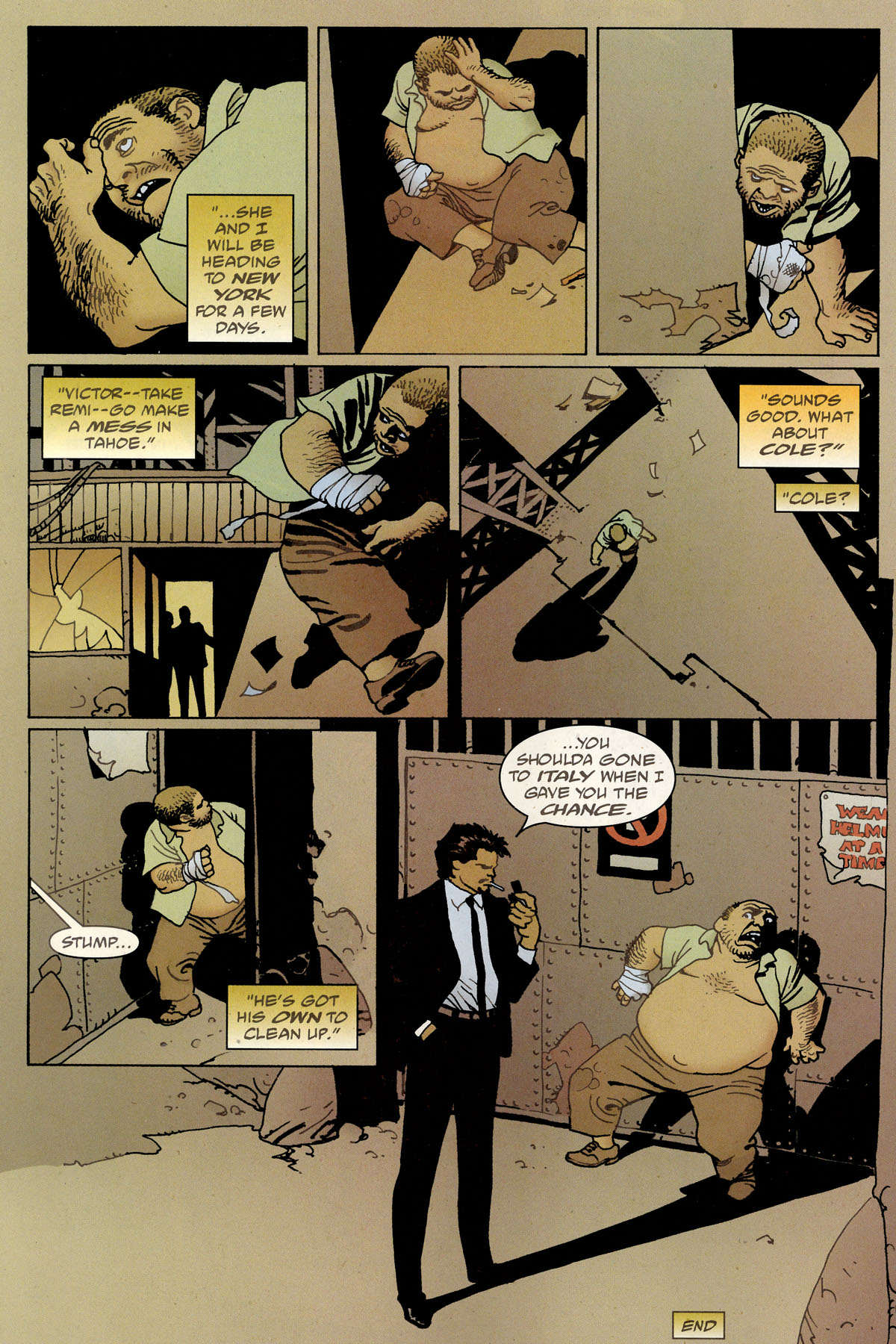 Read online 100 Bullets comic -  Issue #80 - 23
