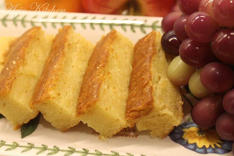 Kek Durian Juitaku Sayang - Azie Kitchen