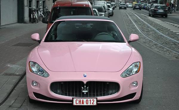 Pin on Pink cars