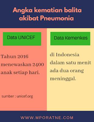 Jumlah pasien pneumonia