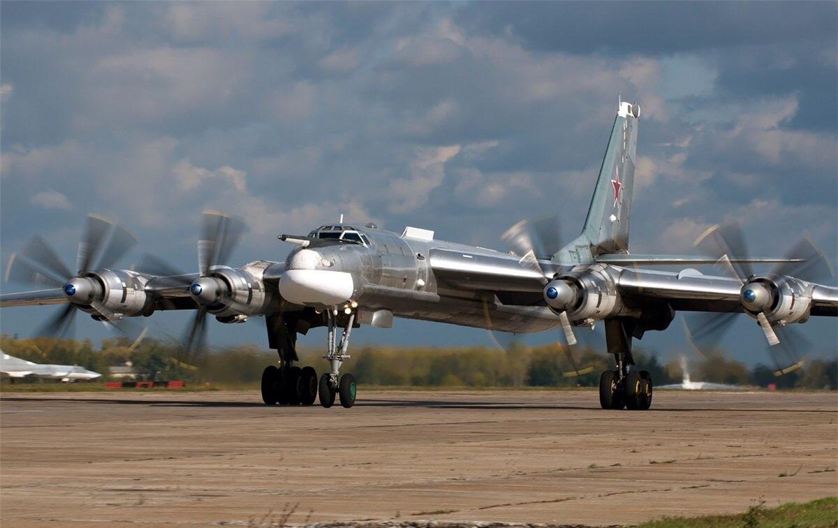 Pictured Tu-95MS