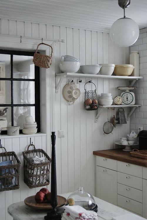 cocina vintage decoración