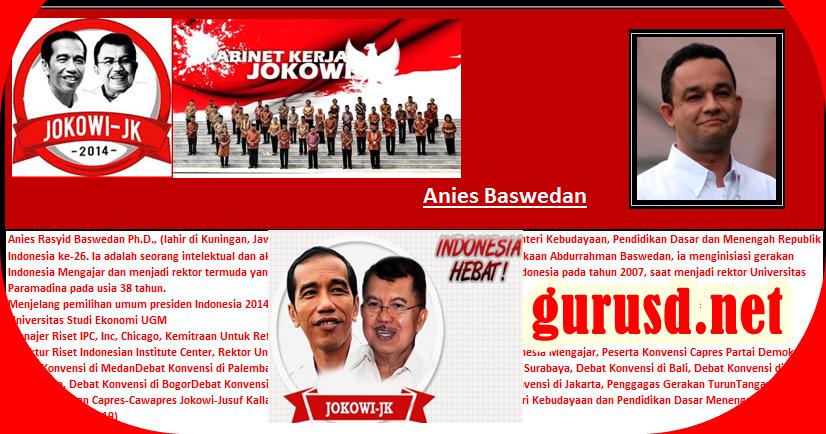 Aplikasi Kabinet Jokowi Untuk Media Pembelajaran Kurikulum 2013 Revisi