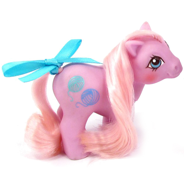 My Little Pony Baby Fleecy Year Seven Baby Pony And Pretty Pal G1 Pony MLP  Merch