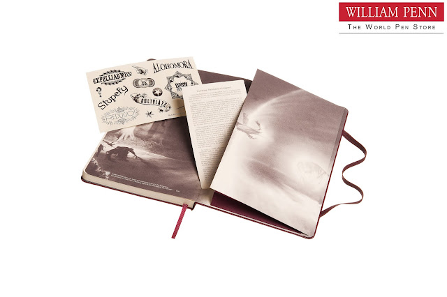 William Penn presents the Harry Potter Limited Edition collection from Moleskine