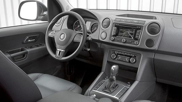 Interior Volkswagen Amarok