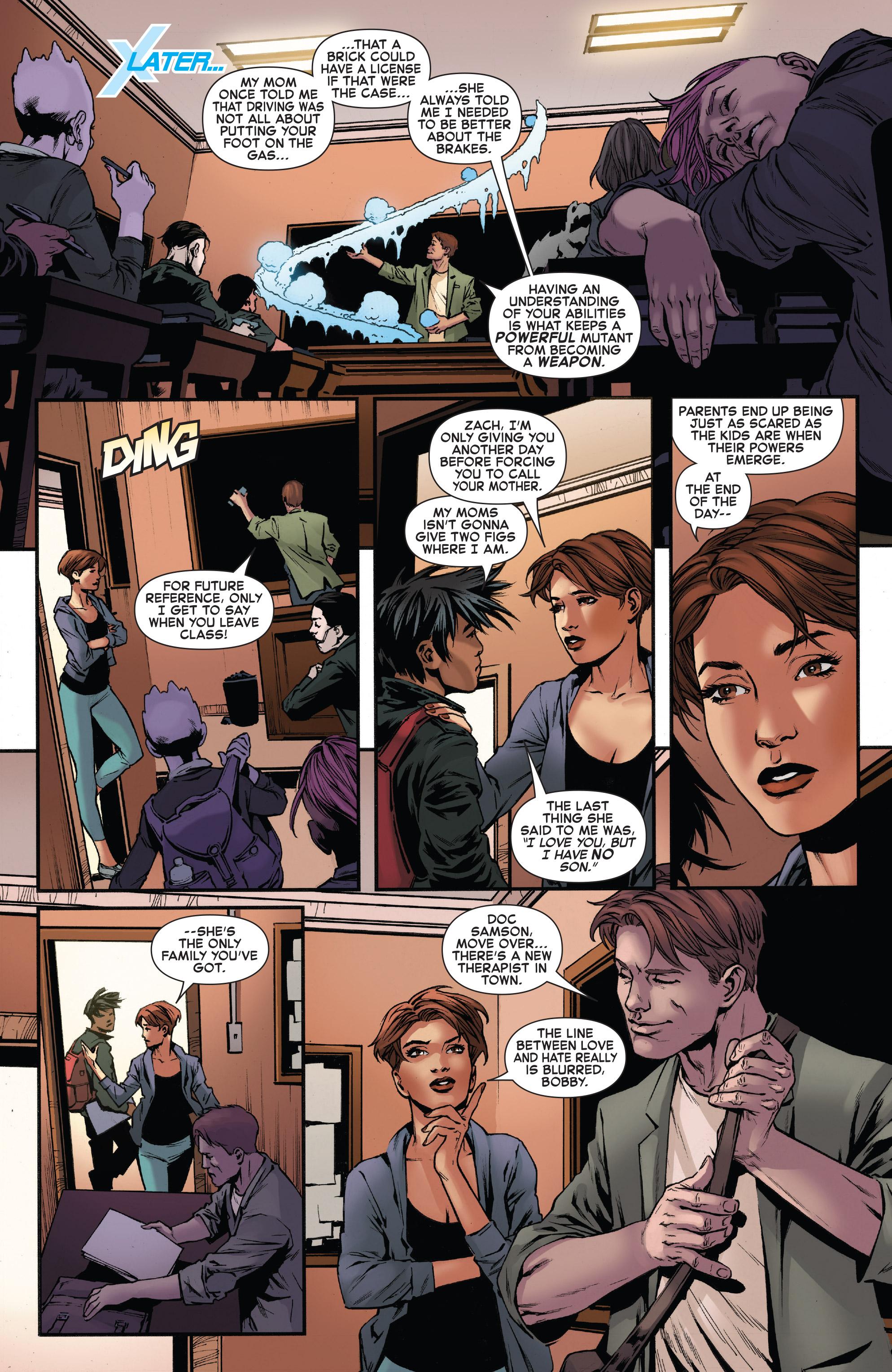 Read online Iceman (2017) comic -  Issue #2 - 21