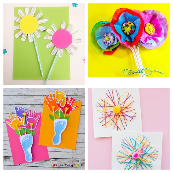 30 Quick Easy Spring Crafts For Kids The Joy Of Sharing