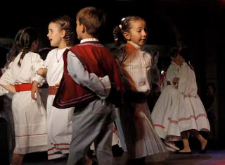 Local Young Dancers Split Dalmatian Coast Croatia