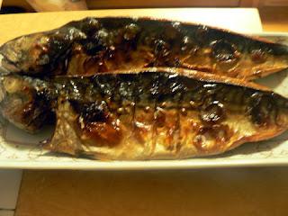 酒の肴 焼き魚 サバ一夜干し
