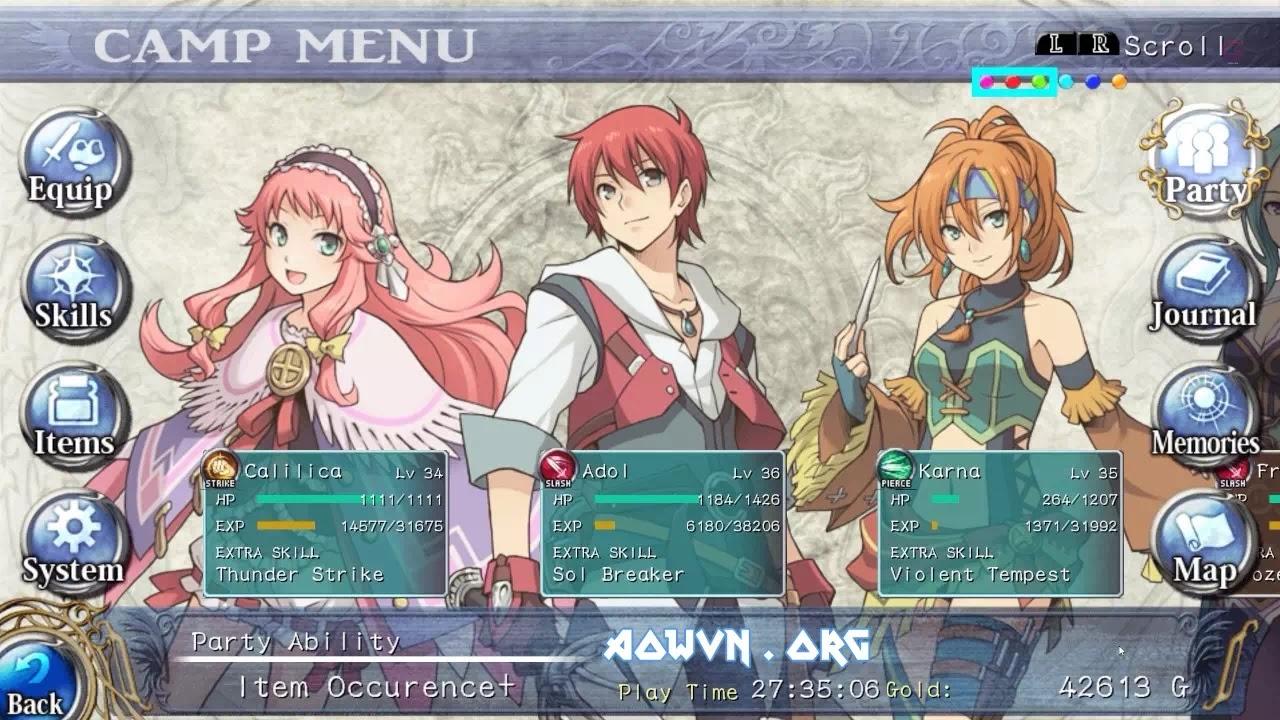 YS AowVN.org m%2B%25286%2529 - [ Cực Hay ] Trọn bộ Series game YS trên PC   English - Tuyệt phẩm RPG cực hay