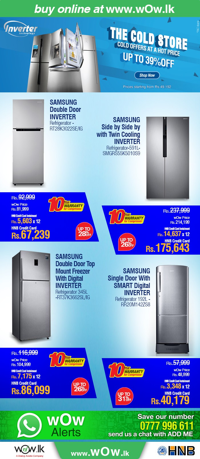 http://www.wow.lk/mall/buyonline/home-appliances-refrigerators/?Ns=sku.inventoryAvailability%7C0&utm_source=dailymail&utm_medium=newsletter&utm_campaign=fridgesale