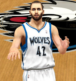 NBA 2K13 Kevin Love Cyber Face Mod Download