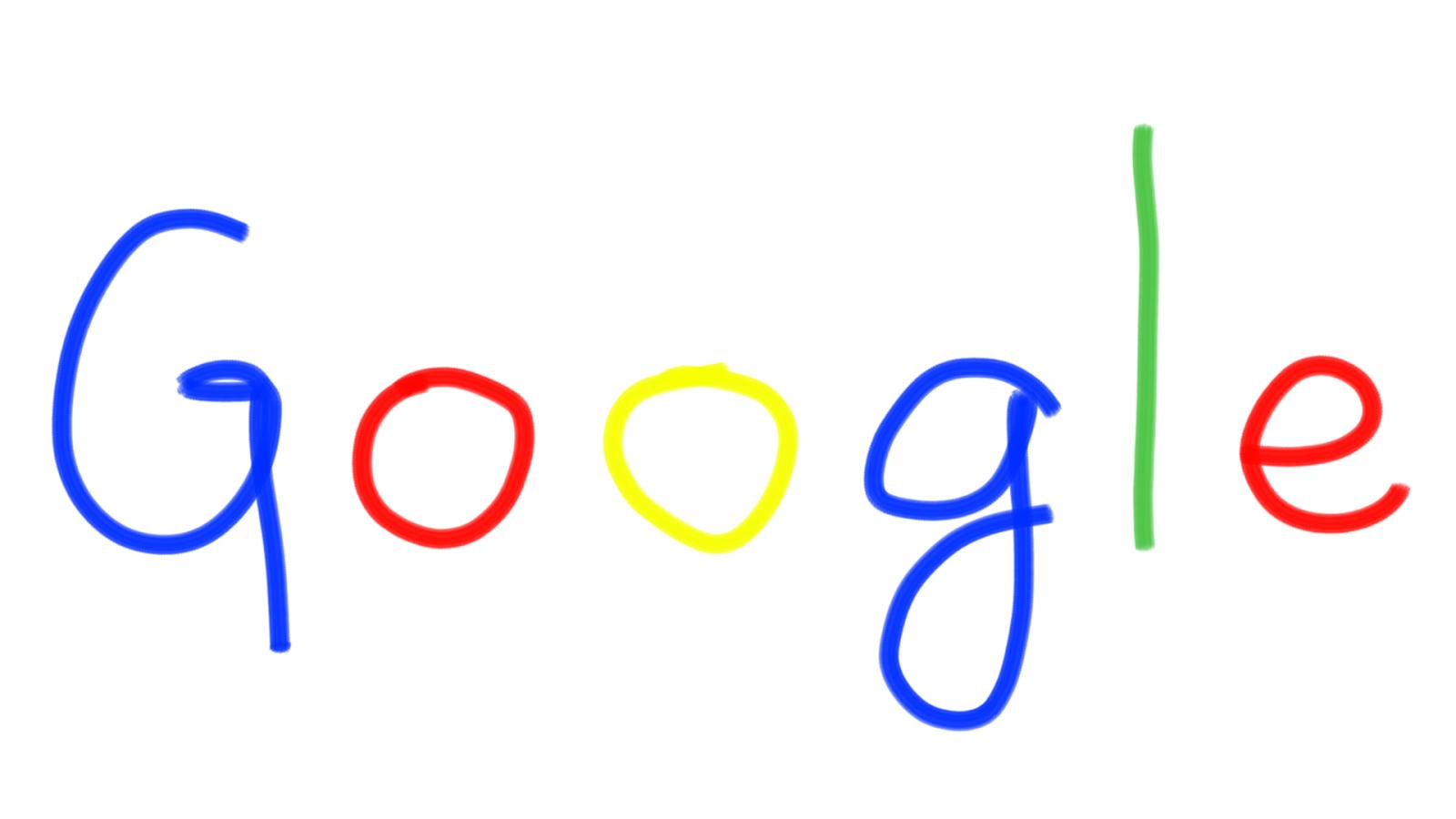 手書きのGoogle