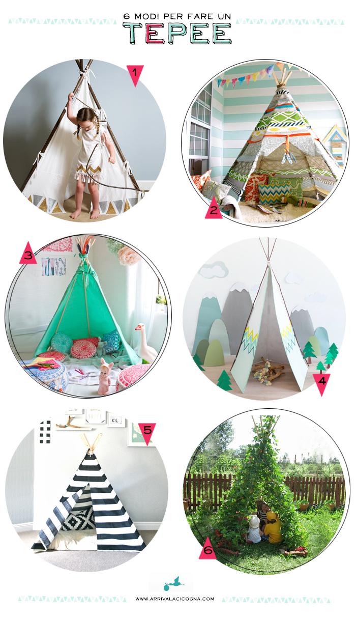 Tenda Indiani Fai Da Te arriva la cicogna: la tenda indiana: 6 modi per costruirsi