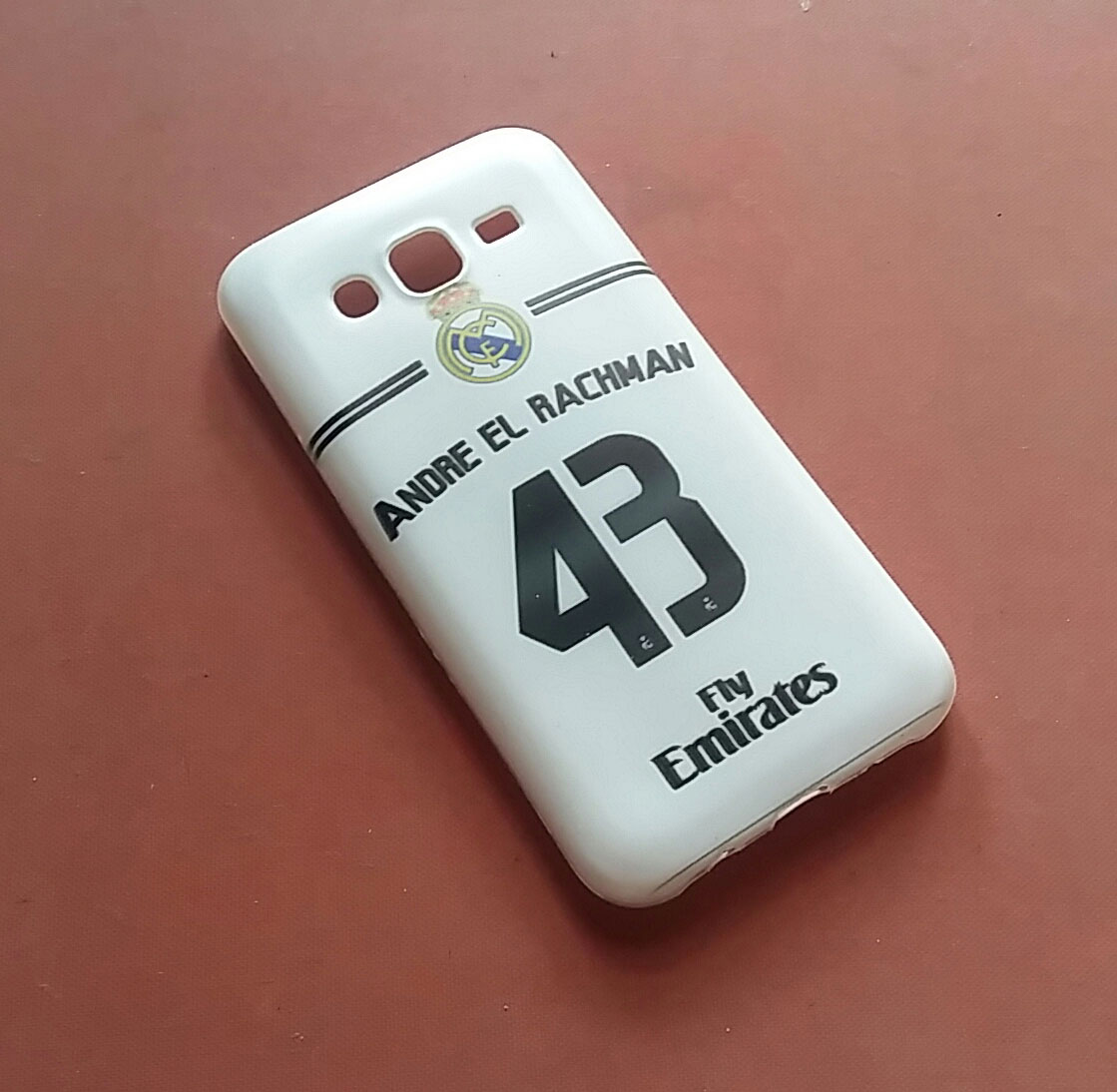 custom case jersey real madrid