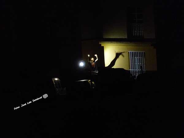 Hoya La Plata en el momento del apagón en el cono sur/ Foto: José Luis Sandoval