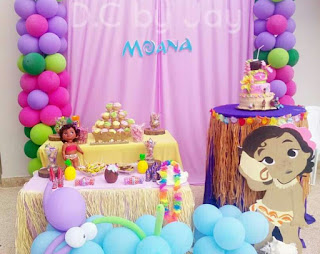 festa diferente Moana