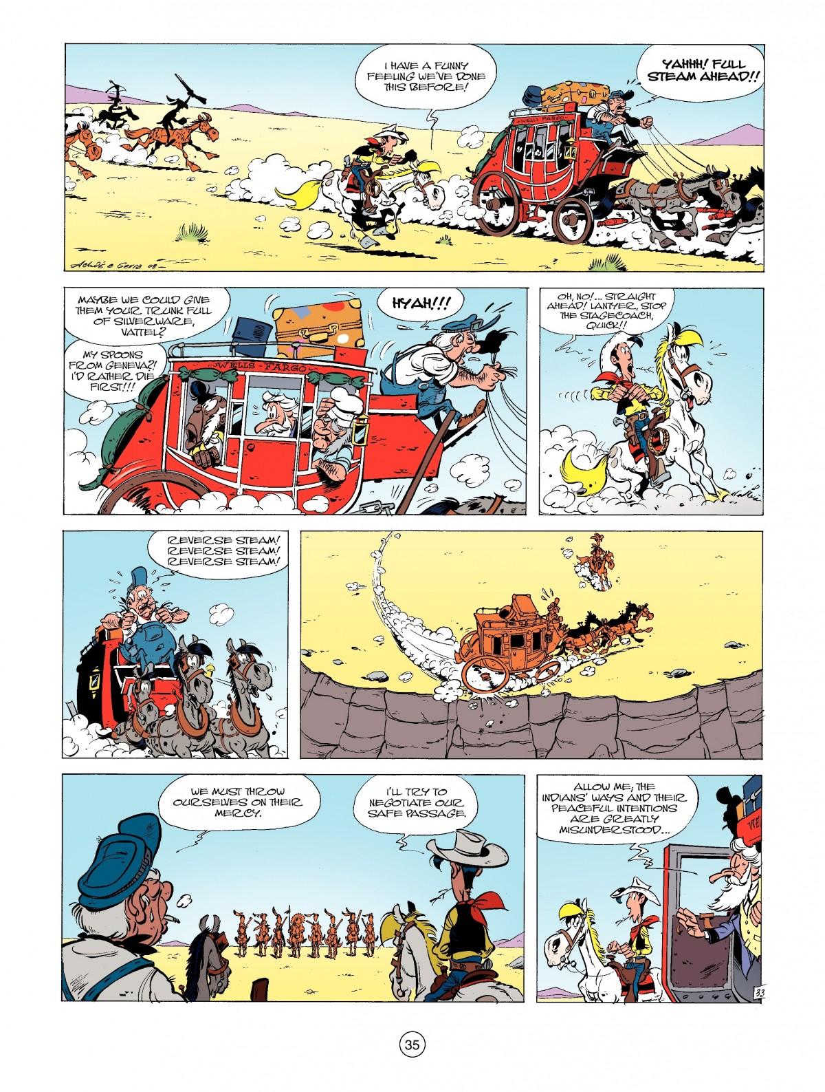 Read online A Lucky Luke Adventure comic -  Issue #39 - 35