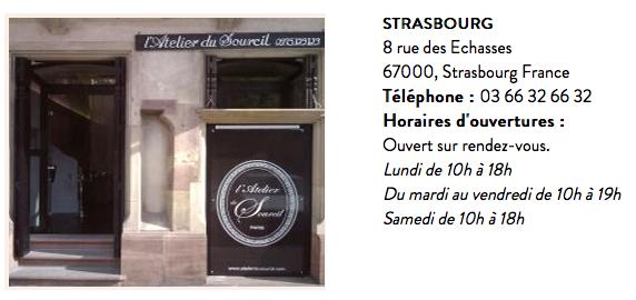 Atelier du sourcil Strasbourg