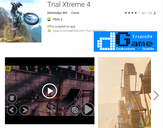Trucchi  Trial Xtreme 4 Mod Apk Android v1.9.2