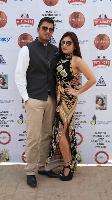 Priyanka Tariyal and Her husband Apoorve