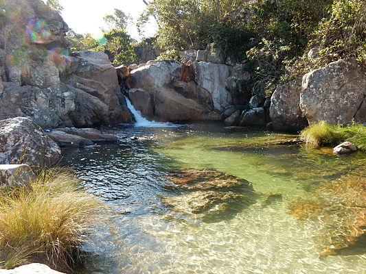 cachoeira capivara chapada dos veadeiros
