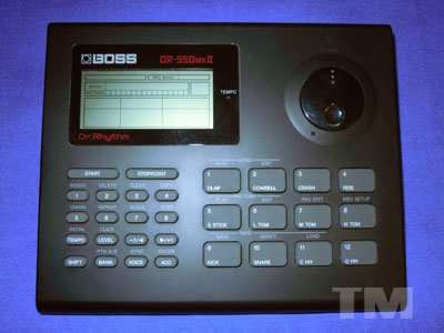 Manitou Productions: New Equipment: Boss DR-550 mkII Drum