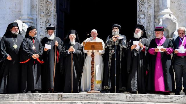 Papa a Israel: ¡Basta de las ocupaciones de las tierras!