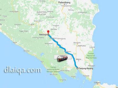 Bandar Lampung - Baturaja