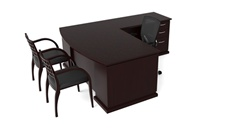 Emerald Desk Set by Cherryman