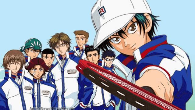 Prince of Tennis - Daftar Anime Sport terbaik Sepanjang Masa