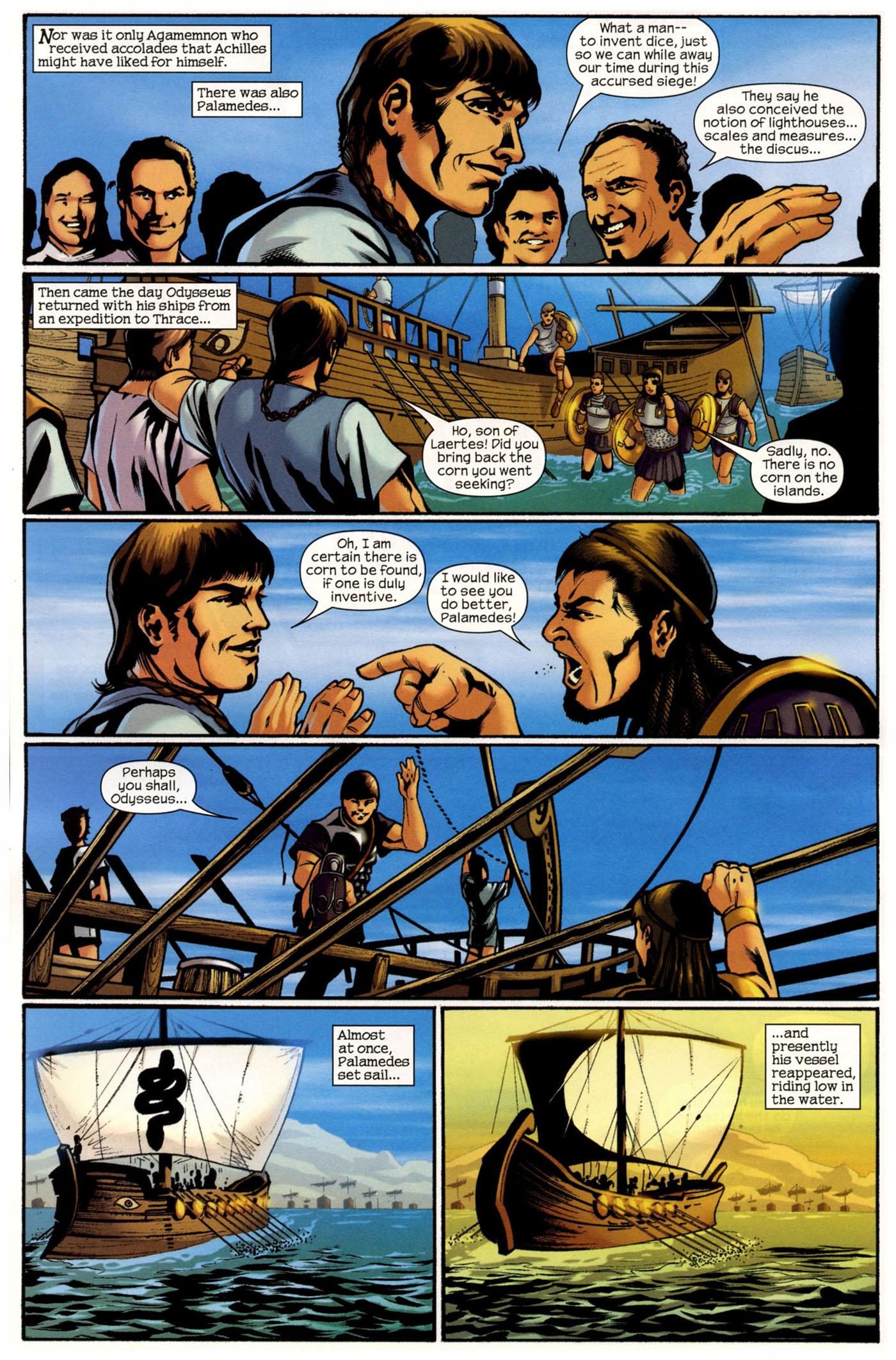 Read online Trojan War comic -  Issue #2 - 21