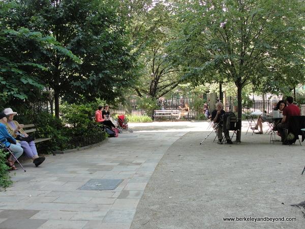 Bleecker Playground park in NYC