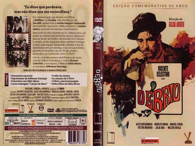 Capa DVD O Ébrio